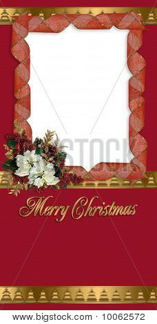 Christmas greeting or photo card