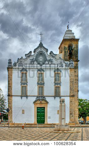 Typical portuguese church in Olhao