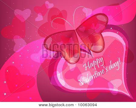 Valentine Schmetterling