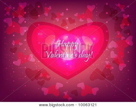Valentinstag-Kontur