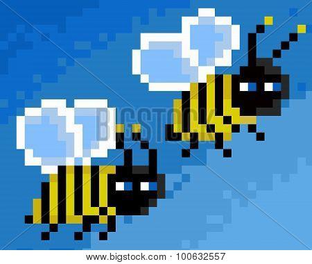 Pixel Bees