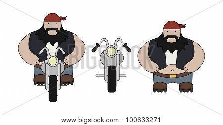 Fat Biker. Color