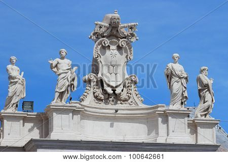 Chigi Family Coat Of Arms, Vatican