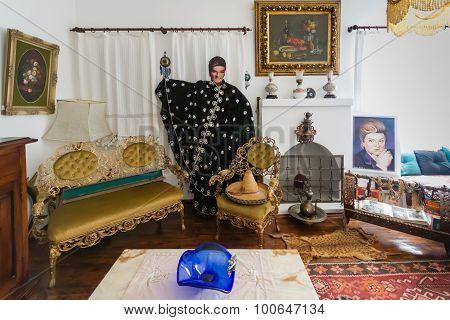 Interior Of The Zeki Müren Museum In Bodrum, Turkey