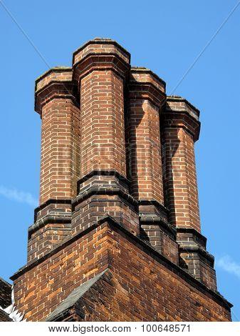 Elizabethan chimney stack
