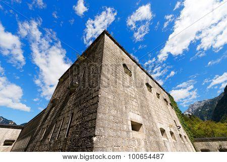 Fort Kluze First World War - Slovenia