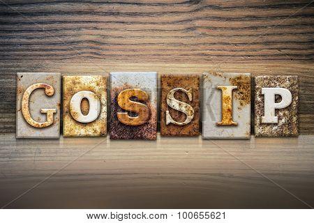 Gossip Concept Letterpress Theme