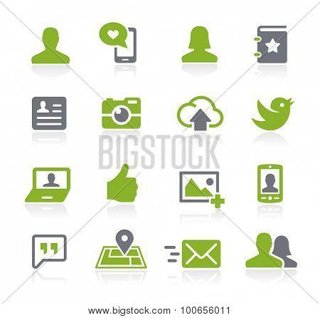 Social Icons // Natura Series