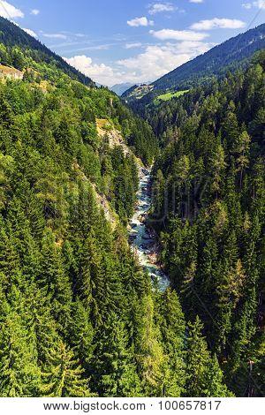 Gorge de la Lama, Valais canton, Switzerland