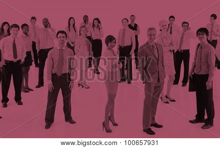 Business People Corporate Communication Office Team Concept