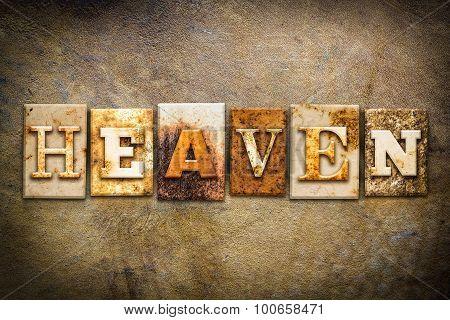 Heaven Concept Letterpress Leather Theme