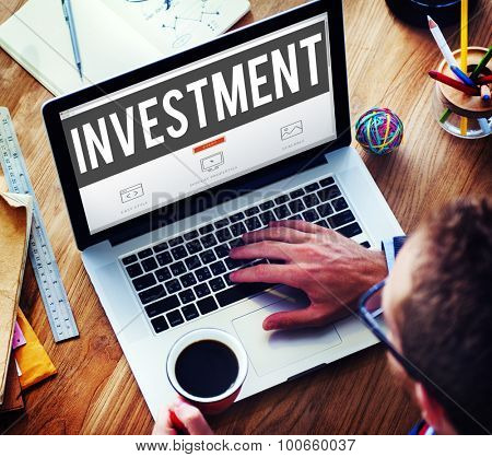 Investment Economy Financial Investing Income Concept