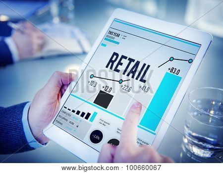 Retail Shopping Purchasing Capitalism Customer Concept