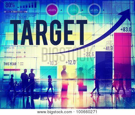 Target Goal Aim Reach Objective Business Concept