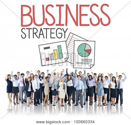 Business Strategy Planning Thinking Teamwork Concept