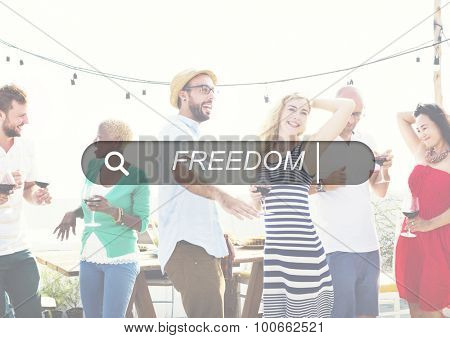 Freedom Free Emancipation Independence Inspiration Concept