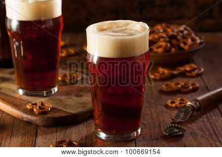 Fresh Brewed Oktoberfest Autumn Ale