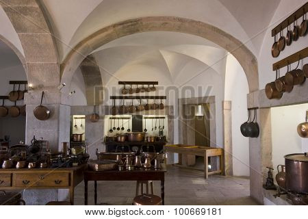 Kitchen Of Pena National Palace