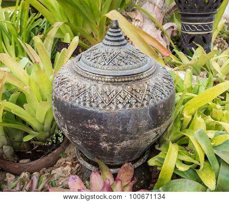 Garden Decoration By Pottery Jar, Pottery Pitcher