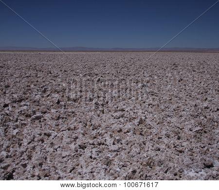 Salt Flats at Laguna Chaxa