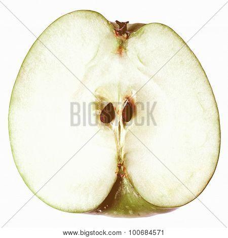 Retro Looking Apple