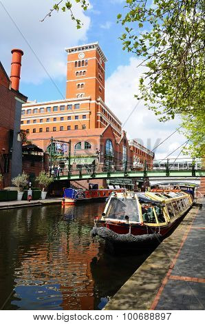 Brindley Place, Birmingham.