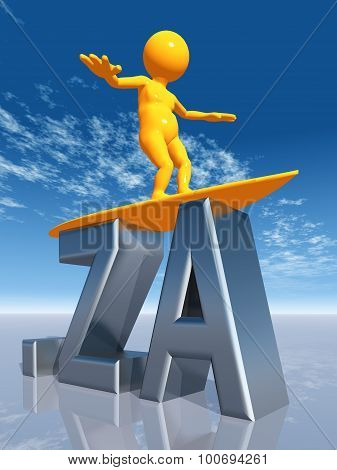 ZA Top Level Domain of South Africa