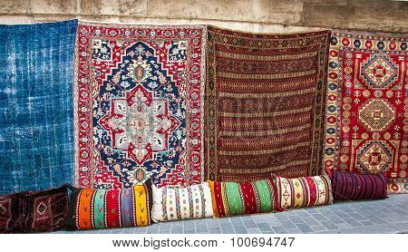 Turkish rugs in the Grand Bazaar