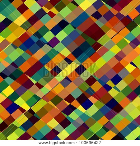 Colorful abstract illustration. Many lines. Multi tone render. Page matrix. Fiber weave. Row.