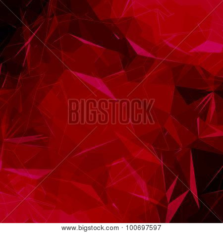 Abstract polygonal low poly background.