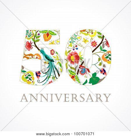 50 anniversary folk logo.