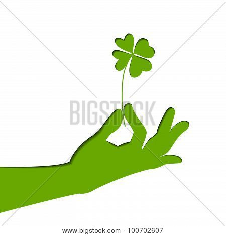 Vector art on Patrick's day.