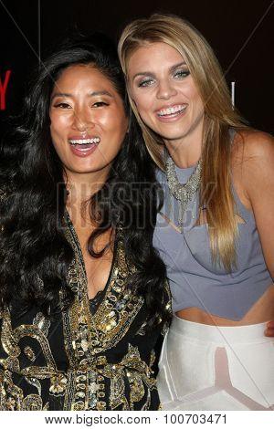 LOS ANGELES - SEP 2:  Chloe Flower, AnnaLynne McCord at the