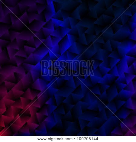 Mysterious Abstract Geometric Background.
