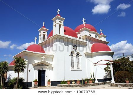 Capernaum Orthodox Church.