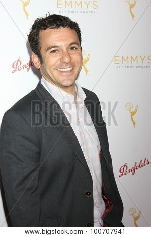 LOS ANGELES - AUG 30:  Fred Savage at the TV Academy Choreography Peer Reception at the Montage Hotel on August 30, 2015 in Beverly Hills, CA