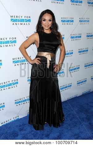 LOS ANGELES - AUG 29:  Mayte Garcia at the Mercy For Animals Hidden Heroes Gala at the Unici Casa on August 29, 2015 in Culver City, CA