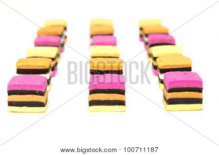 Licorice Allsorts Deep Rows