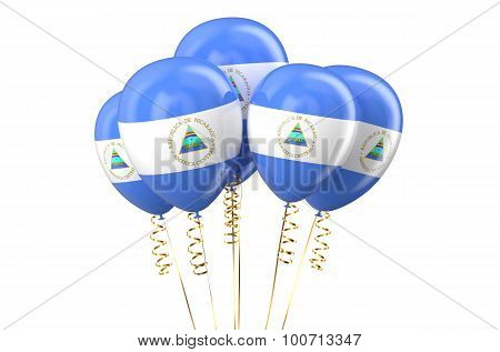 Nicaragua Patriotic Balloons, Holyday Concept