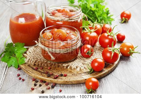 Canned Tomatoes In Tomato Juice