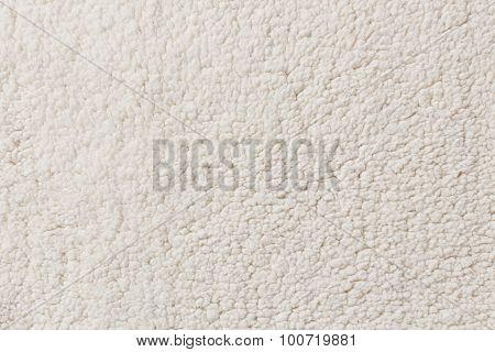 White Synthetic Fleece