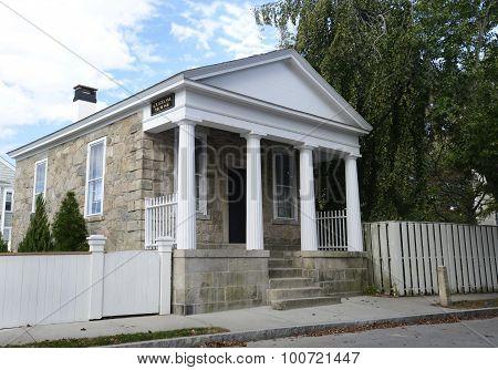 Custom House In Stonington Connecticut