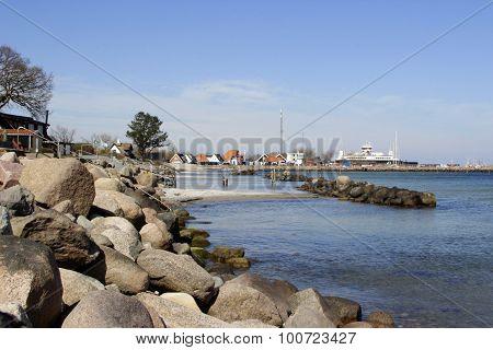 Harbor In Denmark