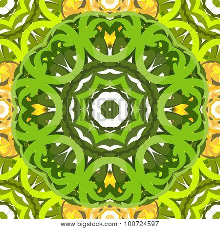 ornamental vector seamless pattern