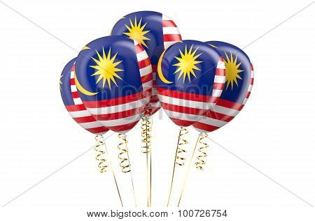 Malaysia Patriotic Balloons, Holyday Concept