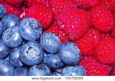 A Fresh And Appetizing Berries