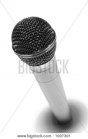 Metallic Microphone