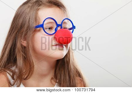 Funny Disguise For Little Girl