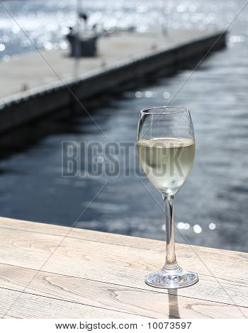 Glass of summer