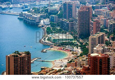 Monte Carlo Aerial View